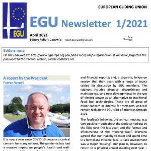 EGU Newsletter 2021 – 1